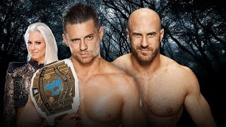 WWE Payback 2016 Preview WWE Intercontinental Championship Match The Mizc vs Cesaro