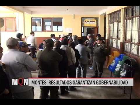 30/03/2015-19:10 MONTES RESULTADOS GARANTIZAN GOBERNABILIDAD
