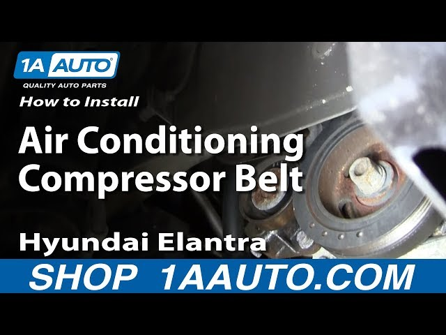 How To Install replace The Air Conditioning Compressor ...