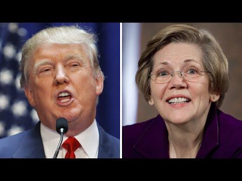 Elizabeth Warren Vs Donald Trump Goes Like You'd Expect