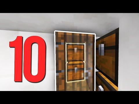 ТОП 10 Способов сделать СЕКРЕТНУЮ КОМНАТУ в Minecraft!