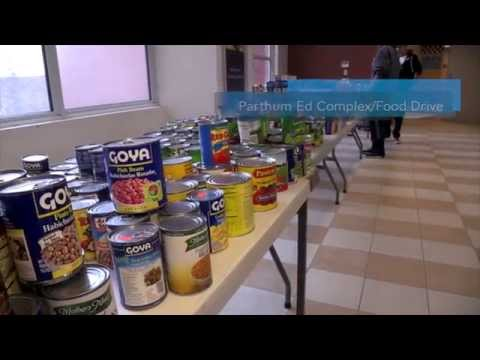 Parthum Ed Complex - Food Drive 2014