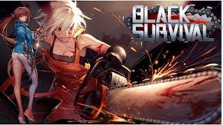 Black Survival - Juego Anime Estilo Battle Royale (Gameplay)