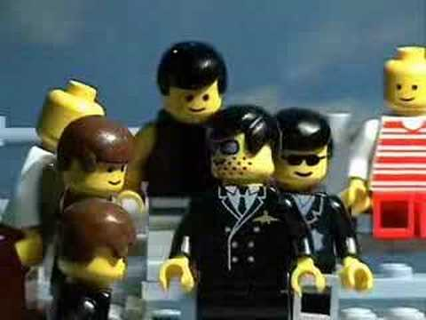 Grease - Summer Nights Lego Stop Motion Animation Video