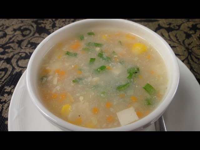 sddefault Sweet Corn Vegetable Soup | Sanjeev Kapoor