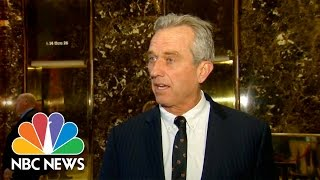 Robert F. Kennedy Jr. To Chair Commission For Donald Trump On Vaccine Safety | NBC News