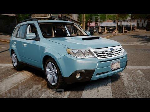 Subaru Forester 2008 XT