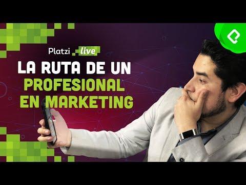 La ruta de aprendizaje de un profesional del marketing digital | PlatziLive