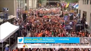 Ed Sheeran  Lego House on   Today Show