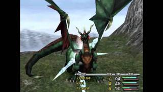FFIX Grand Dragon Early Kill on Disc 1 without Quina