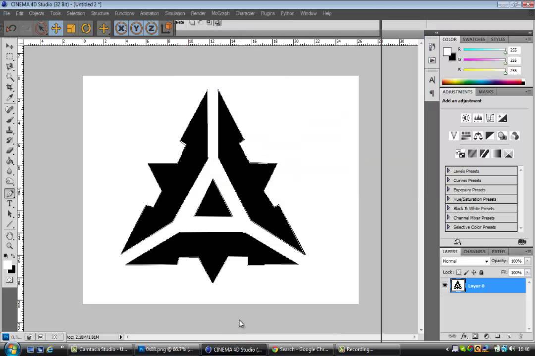 Logo Using Photoshop Logo Using Photoshop And