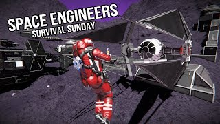 Space Engineers:  Heavy Damage  #21 Survival Sunday
