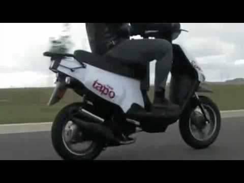 SCOOT2COMMUTE.COM TGB TAPO 50 50cc SCOOTER - VIDEO 1