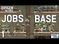 Oxygen Not Included   Occupational Upgrade Base #1 (JOBS, HATS & CONVEYOR RAILS)