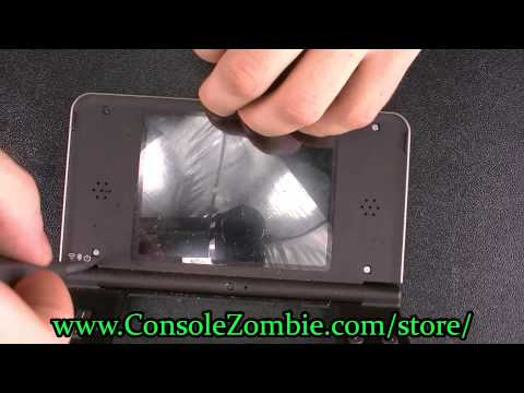 DSi XL Top LCD Screen Replacement - ConsoleZombie.com