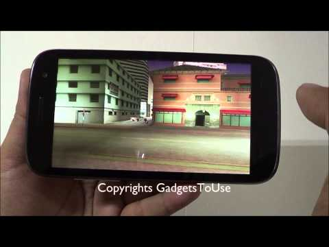 GTA Vice City Gameplay Review on Micromax A116 Canvas HD