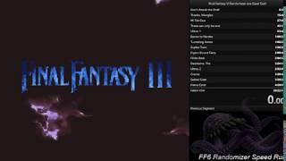 Final Fantasy 6 Randomizer Speedrun 2-1