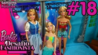 Barbie Desafío Fashionista #18 De Disfraces!👸