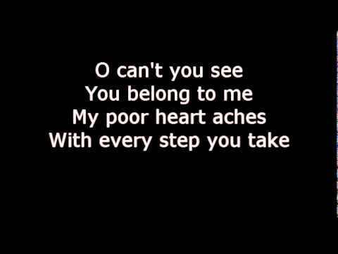 The Police - Every breath you take lyrics