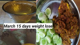 March 15 days weight lose diet, egg diet, low carb diet, day 1