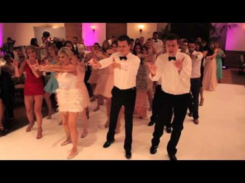Flash Mob Wedding Dance (kesha's Timber) video