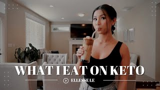 KETO WHAT I EAT IN A DAY TO LOSE WEIGHT 2020