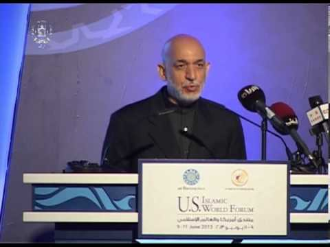 President Karzai's Remarks at the 10th US-Islamic World Forum - June 9, 2013