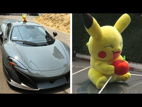 SUPERCAR POKEMON HUNTING