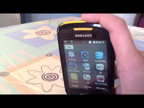 Samsung Corby 2 Cool Features Like Instagram And More video