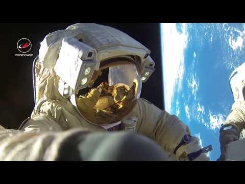 Космонавт рассказывает про выход в открытый космос