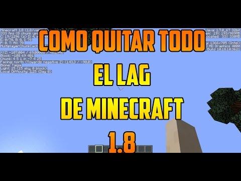 Como Quitar el LAG de Minecraft   1.8   Subir los FPS! ( Sin Optifine )+ Bien Explicado+