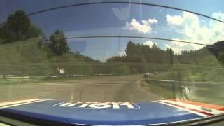 Dzintara aplis @ Nemuno race track 2013 Volga 1 race start on board