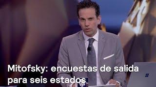 Mitofsky tiene para Noticieros Televisa encuestas de salida contundentes para seis estados