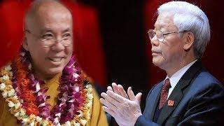 HT Thích Thông Lai sẽ TỐ CÁO TỘI ÁC của Nguyễn Phú Trọng với Quốc Hội Mỹ khi ra lệnh THIẾT