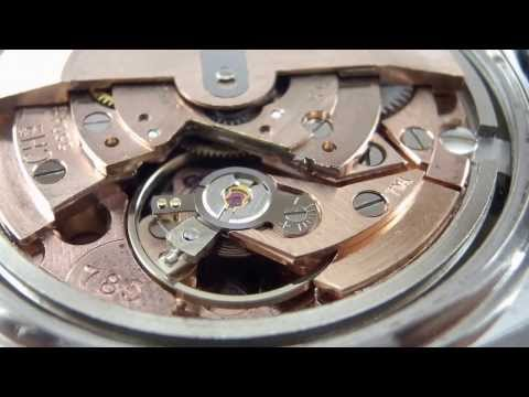 Tissot automatic movement cal.785 running.