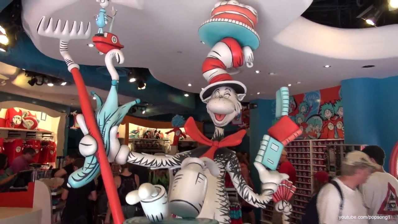 Cat In The Hat Ride Universal Orlando