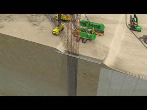 Zo bouw je een kademuur op Maasvlakte 2