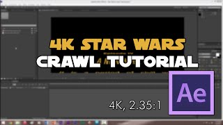 How to Create the Star Wars Opening Crawl in After Effects
