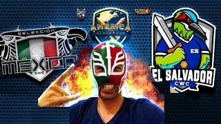 """OFICIAL Cuartos de FINAL """"México vs El Salvador"""" America Clash Cup"""