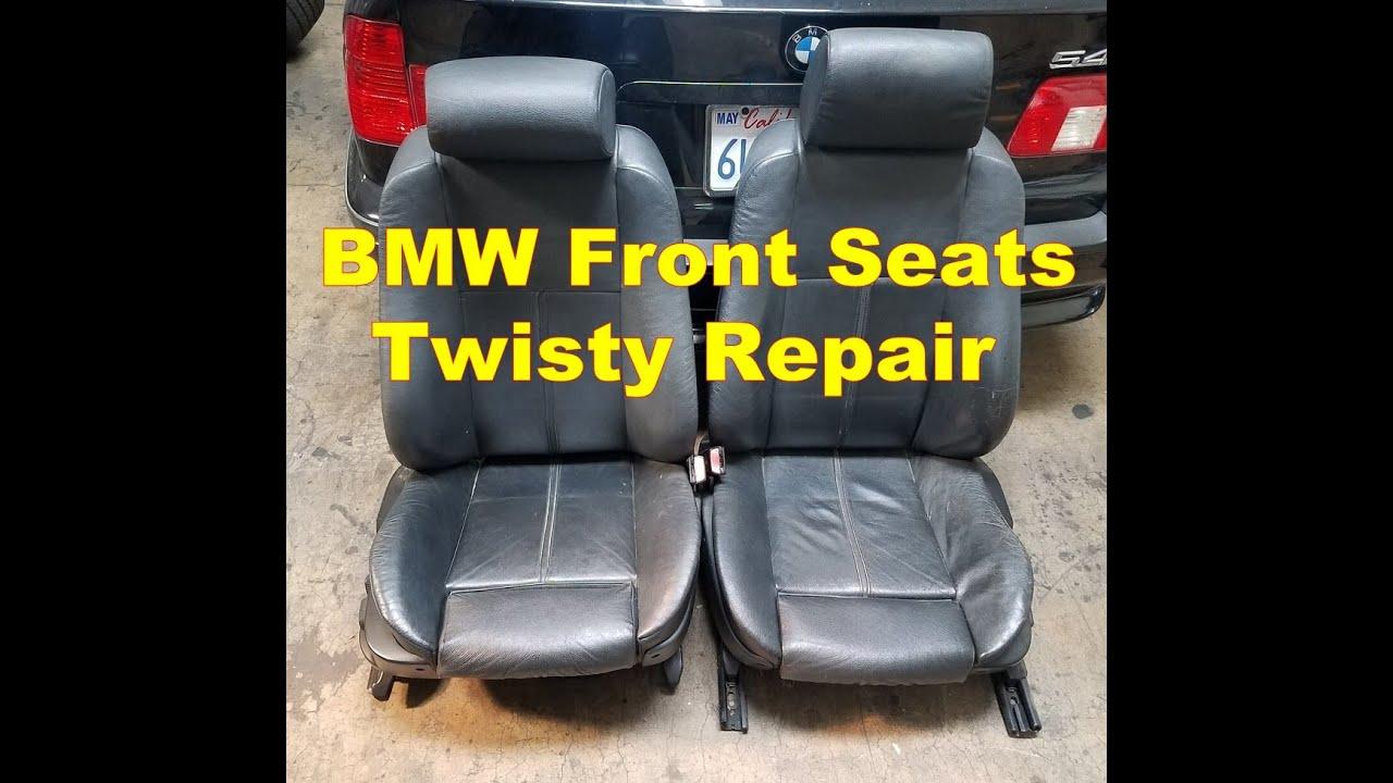 Bmw E39 M5 540i Front Seat Twist Repair 530i 525i Youtube