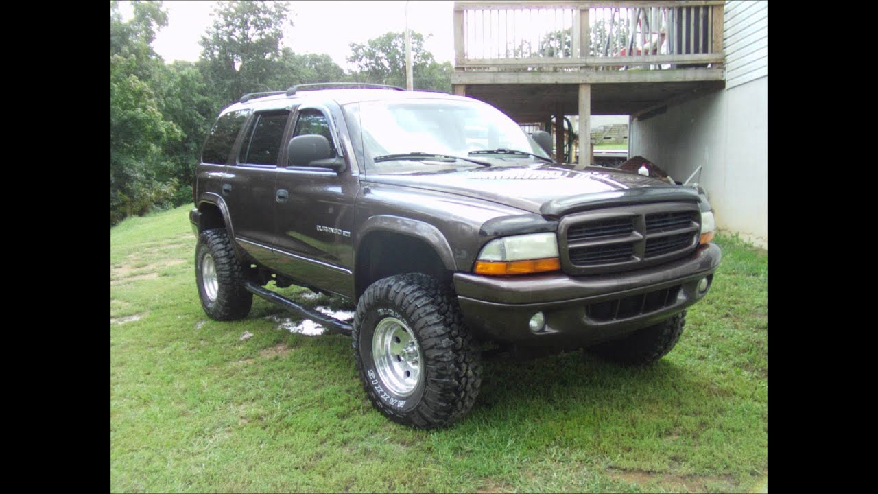 22 Inch Tires >> My lifted 98 dodge durango with 33's - YouTube