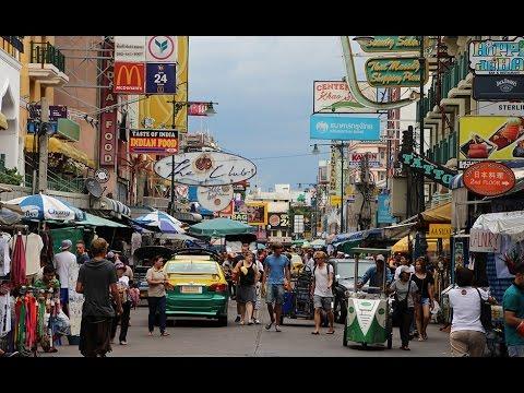 Tips Thailand   Walking Khao San Road, Bangkok   HD 1080p