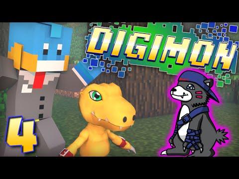 digivolving Wanyamon!? Minecraft - Digimon Modded Adventure! - Ep #4 video