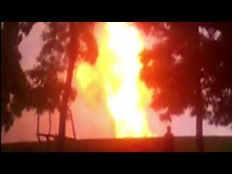 Major Ukraine Gas Pipeline Hit By Blast - LIVE