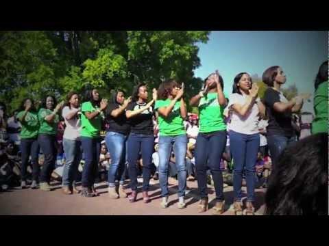 Alpha Kappa Alpha (2012 SCSU Yard Show)