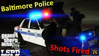 Baltimore Police Night Patrol | GTA 5 LSPDFR Episode 258
