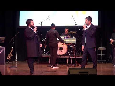 Ari Goldwag & Benny Friedman - Kah Ribon - Live - Menucha Concertארי גולדוואג ובני פרידמן בהופעה חיה