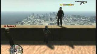 GTA 4 Jump off Empire State Building