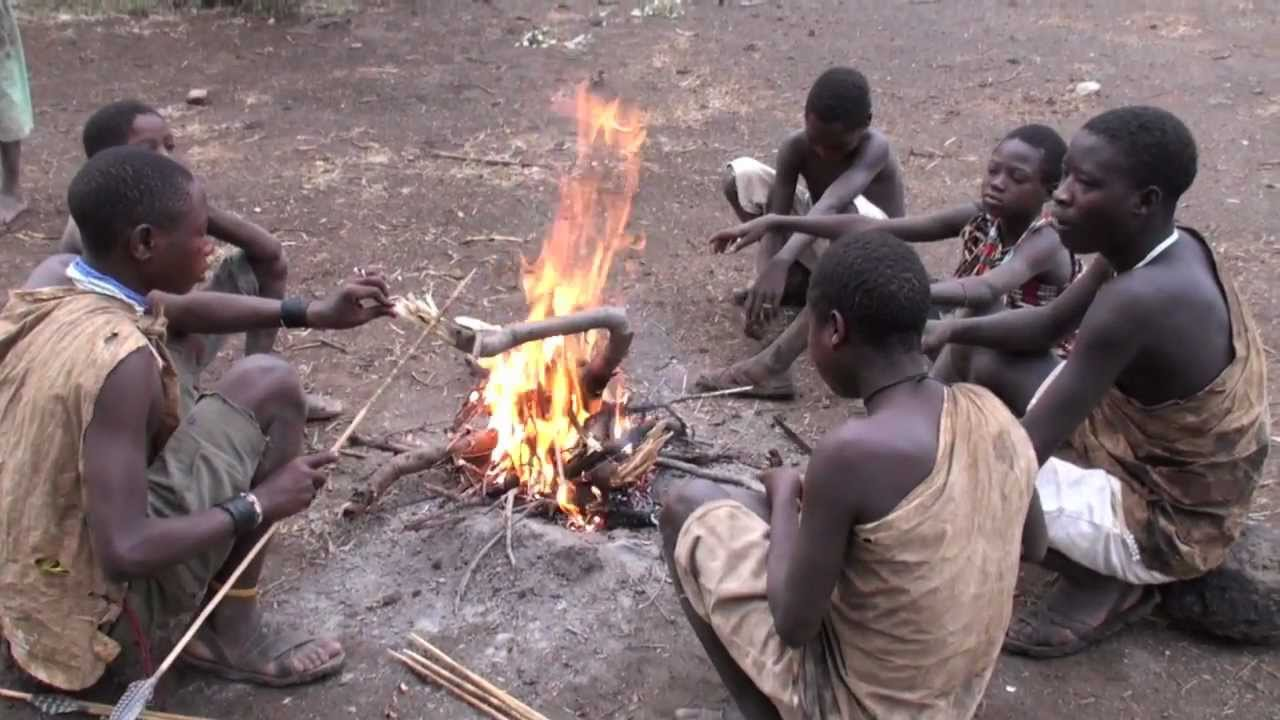 Hunting with the hadzabe bushman tribe youtube for Fishing license for disabled person