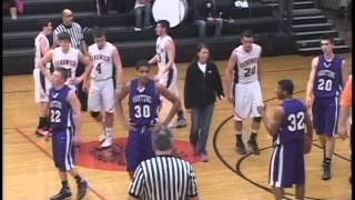 Basketball:  Sandwich, IL vs Manteno, IL Boys Basketball
